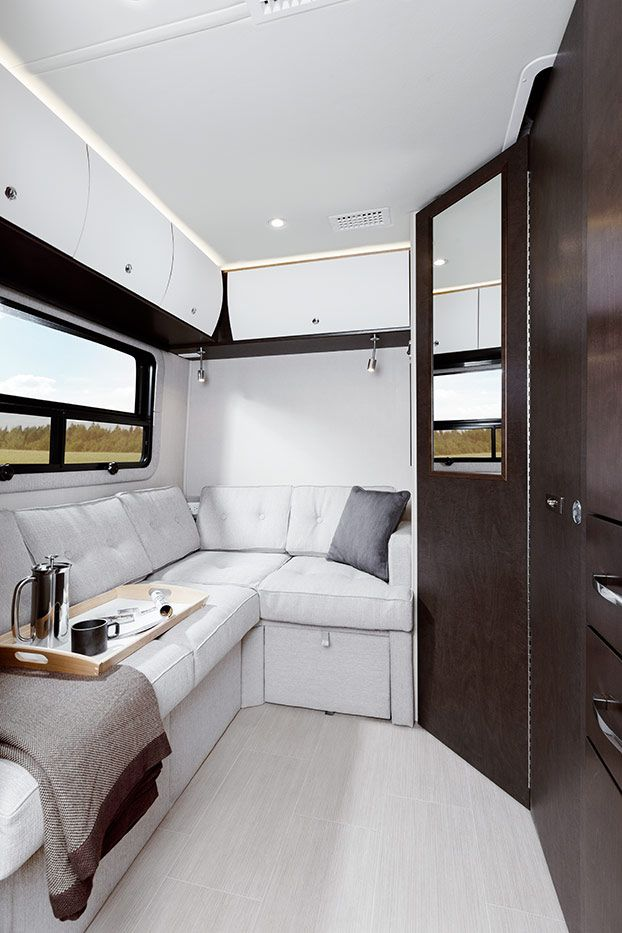 Airstream Class B >> Unity - Floorplans | Leisure travel vans, Luxury van, Luxury rv