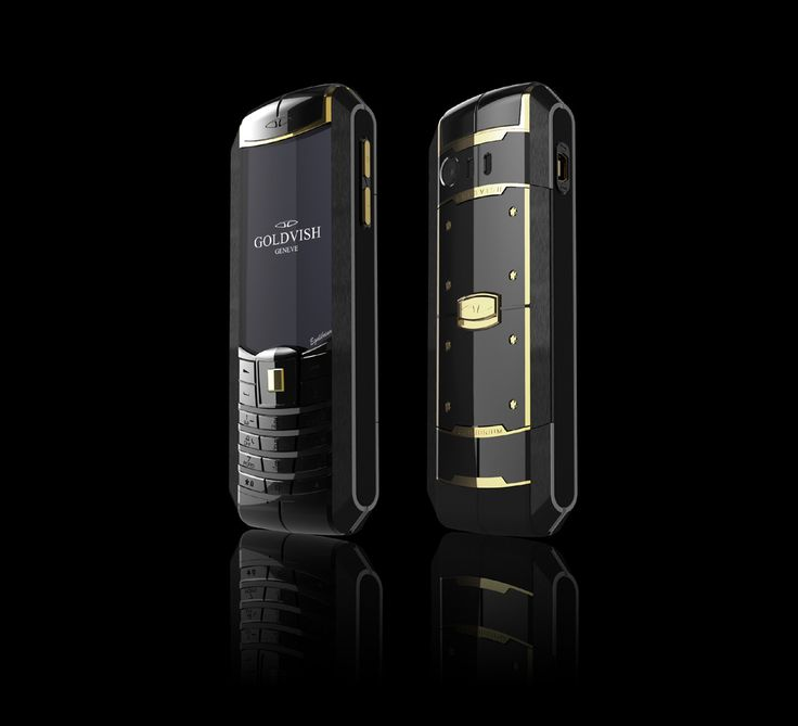 Equilibrium – Dual SIM Luxury Mobile Phone from GoldVish Geneva