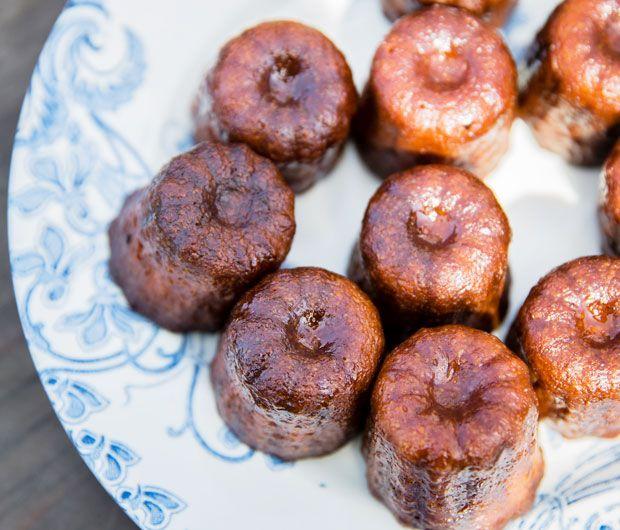 Découvrez la délicieuse recette des cannelés bordelais de Julie Andrieu sur Femina.fr !