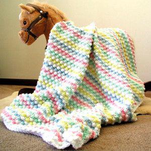 Baby Bubbles Crochet Afghan Pattern | AllFreeCrochet.com