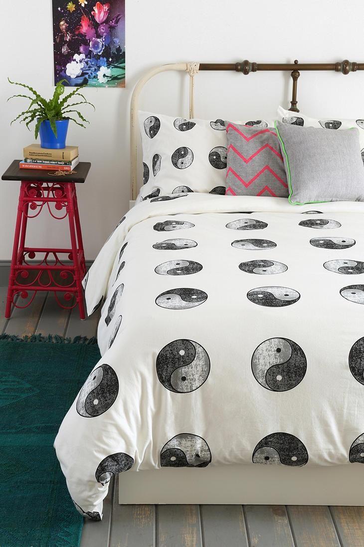 Yin-Yang Duvet Cover #urbanoutfitters #bedding