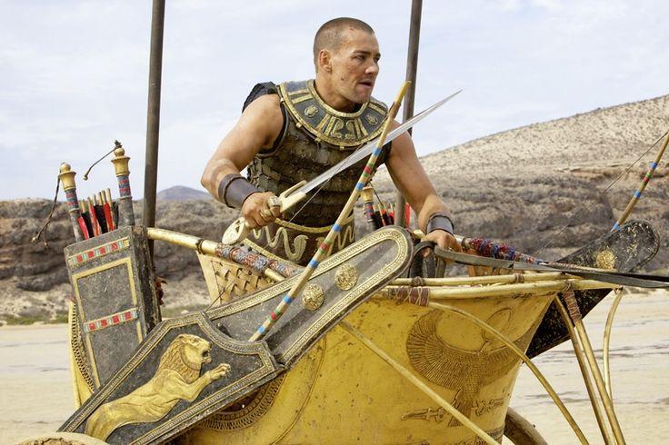 Joel Edgerton as Rhamses in Ridley Scott's Exodus: Gods and Kings, December 2014.
