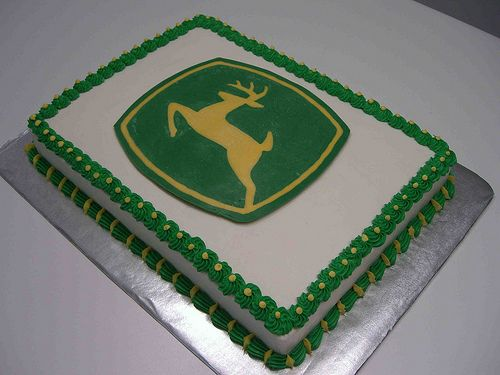 John Deere Cake-Simple and Easy