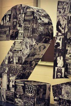 Nro. 40 en telgopor + fotos de ellos