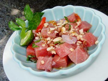 Gohu Ikan Ternate (East Indonesian Tuna Ceviche)- Will Try Recipe