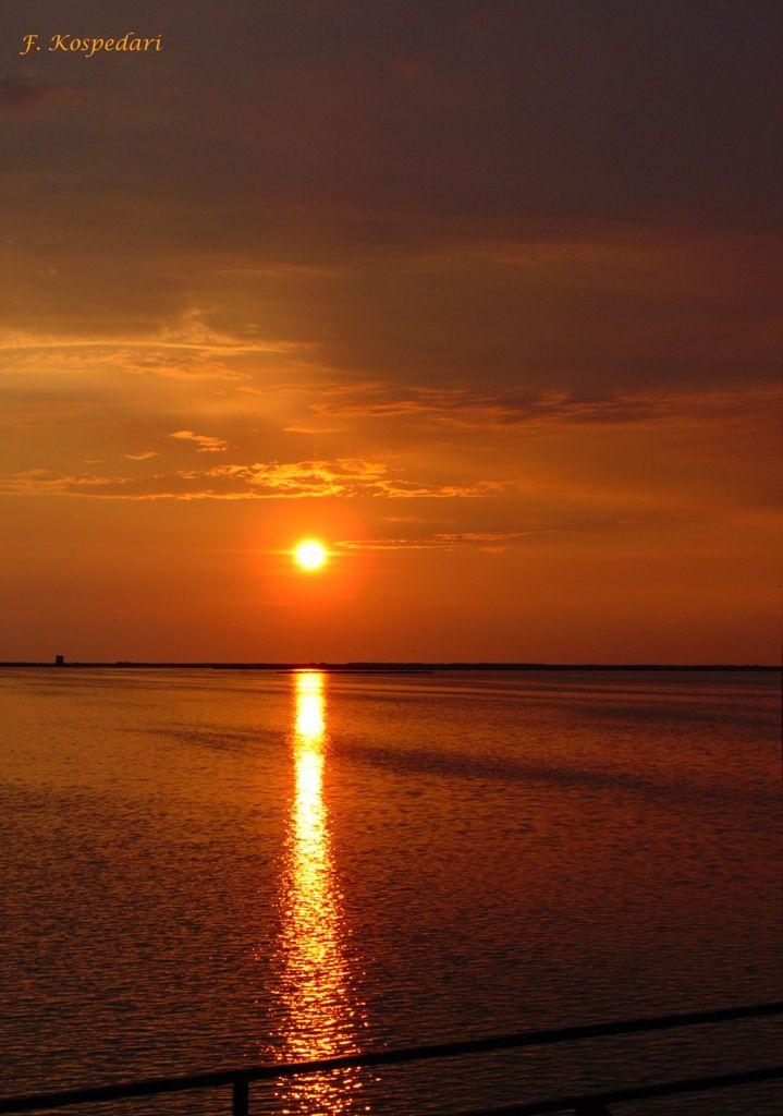 Ηλιοβασίλεμα στη Γύρα. 03/07/2015