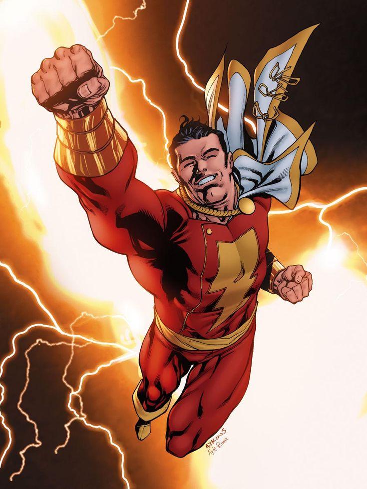 DC Detective Comics Shazam Captain Marvel By Robert Atkins
