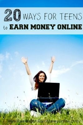 Are you a teen looking for ways to earn money online? This post has a list of more than 20 legitimate things you can start doing TODAY to put money into your pocket!