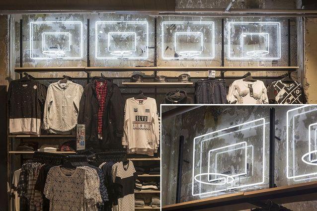Interior Awards finalist: Retail – Hallensteins Queen Street (Auckland) store by Studio Gascoigne.