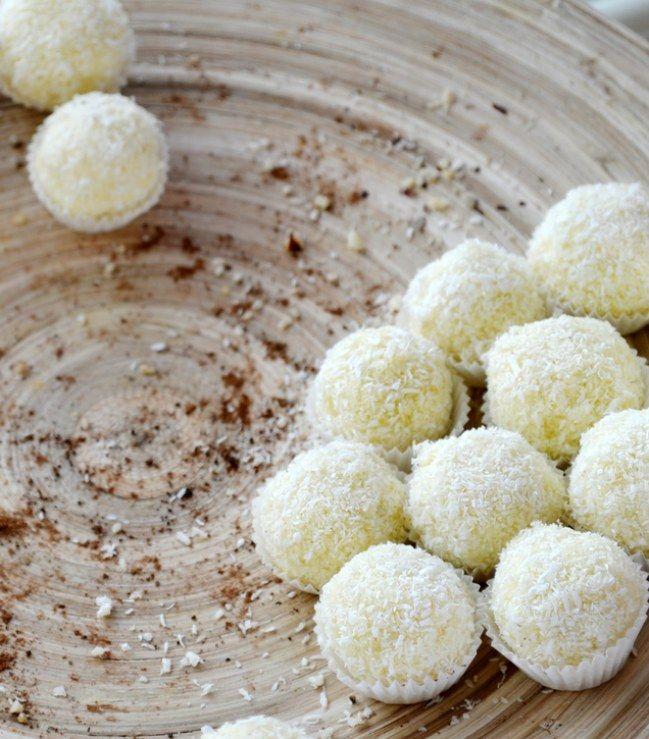 Kokosowe pralinki z kaszy jaglanej - prosty przepis bez pieczenia