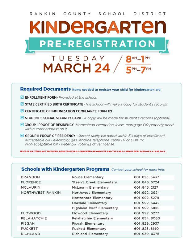 cbc771101c0a25c38e1cfb7c688200f4  kindergarten registration flyers - Registering For Kindergarten