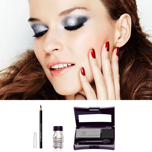One of the new looks of the year: Smoky Black! @Yves Rocher USA #MakeUpDaysUSA