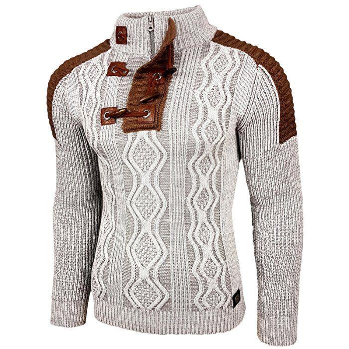 CIPO&BAXX Pullover Damen Oberteil Strick Pullover