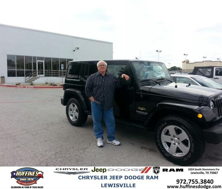 #HappyAnniversary to David Gray on your 2012 #Jeep #Wrangler Unlimited from Ruben  Cantu  at Huffines Chrysler Jeep Dodge Ram Lewisville!