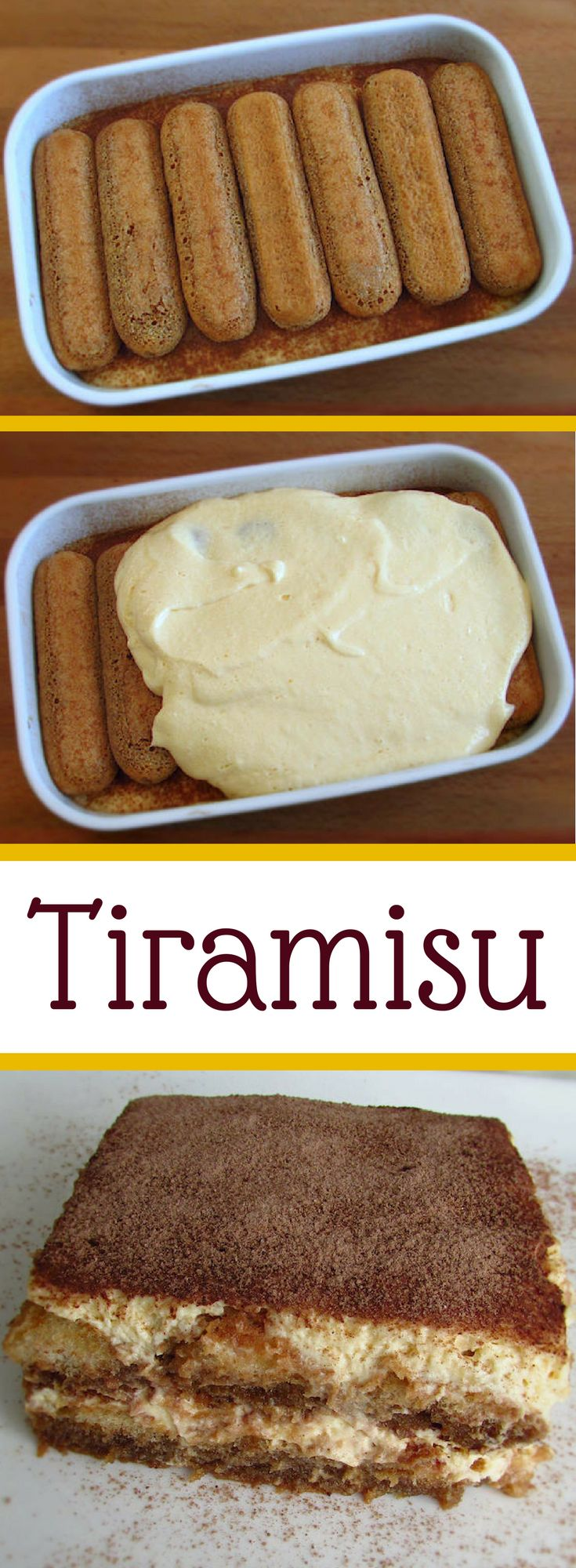 Tiramisu | Food From Portugal. Nothing like a tiramisu to give a refined touch to your dinner… Dare yourself! It's delicious… #sweet #tiramisu #recipe