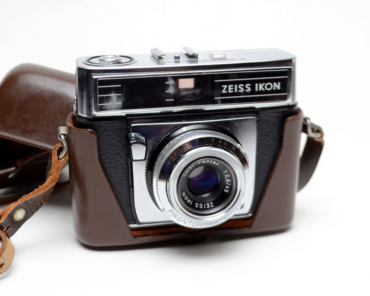 Vintage Zeiss Ikon Contessamat 35mm Film Camera with Case by ValueBliss on Etsy