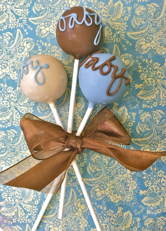 Baby Shower Cake Pops - New York Cake Pops