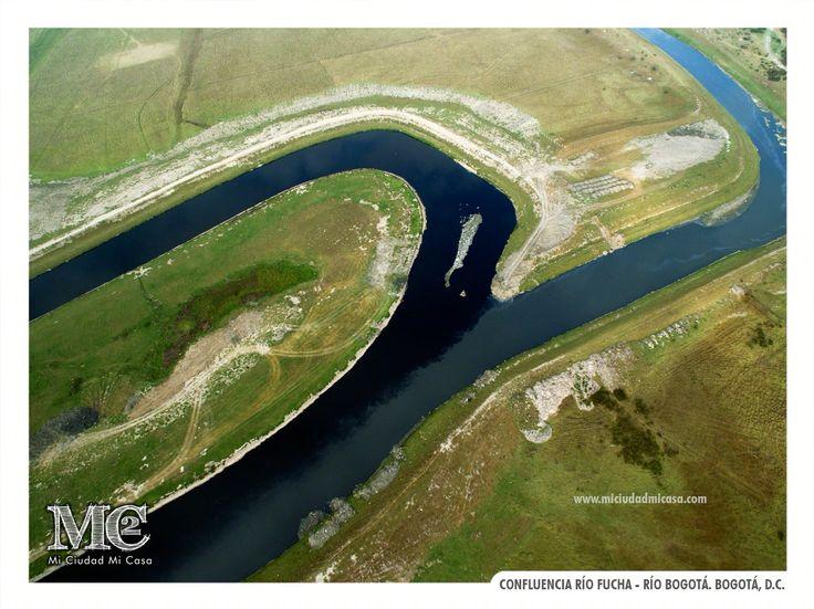 Confluencia río Fucha - río Bogotá. Bogotá D.C.