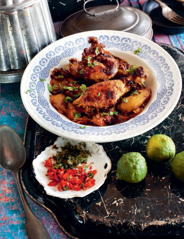 Poulet au Mangue (Mango Chicken)