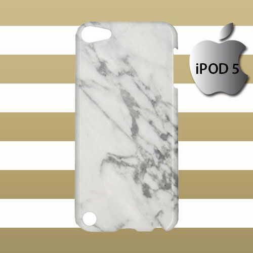 Grey Marble Pattern iPod 5 5g 5th Touch Case Cover Hardshell