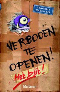 boek 103 | mijn recensie over Charlotte Habersack - Verboden te openen! Het bijt! | http://www.ikvindlezenleuk.nl/2017/10/habersack-verboden-openen/