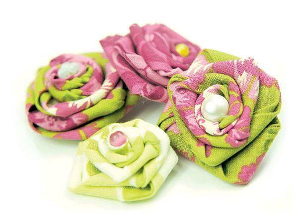 Propuesta Rosas De Tela Tuto Fleur En Tissu Roses En Feutre Fleurs En Tissu