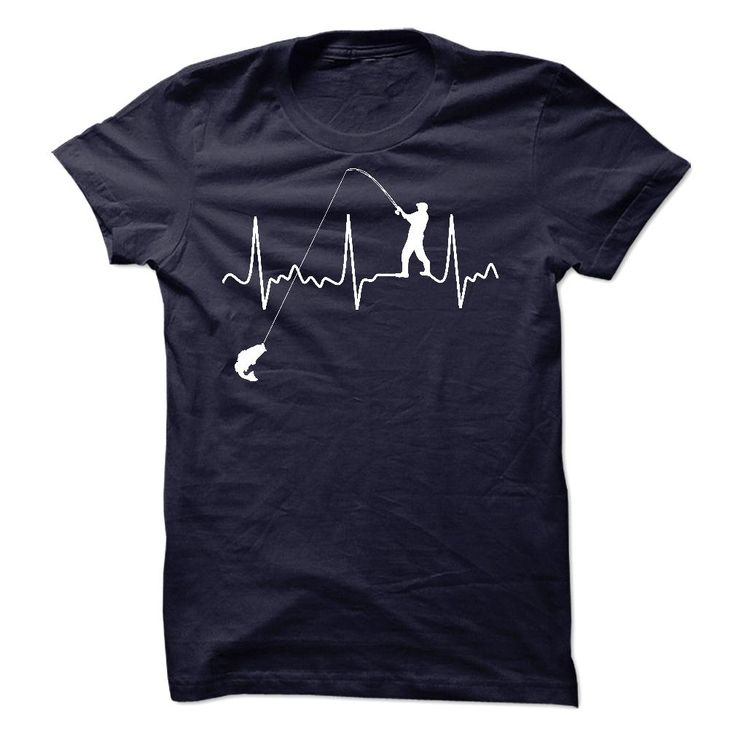 Fishing Heartbeat Shirt T Shirt, Hoodie, Sweatshirt