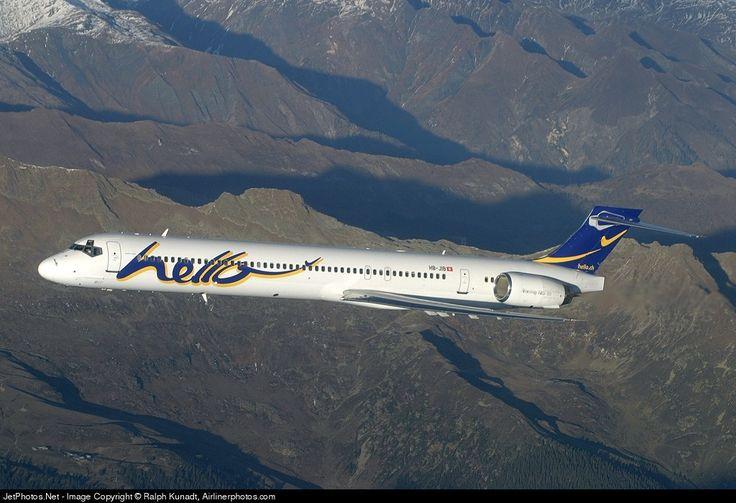 Hello McDonnell Douglas MD-90-30