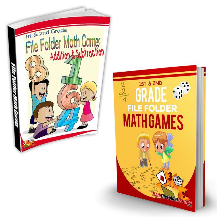 50 best 1st & 2nd Grade File Folder Math Games images on Pinterest ...