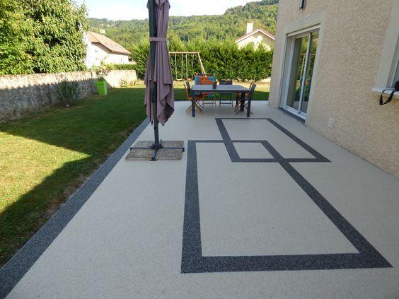 Pin Auf Terrassen Boden Steinteppich Ideen