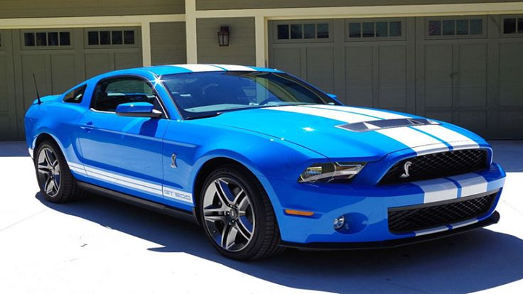 For Sale: This 2010 Mustang Shelby GT500 has driven just 21 miles - Autoblog