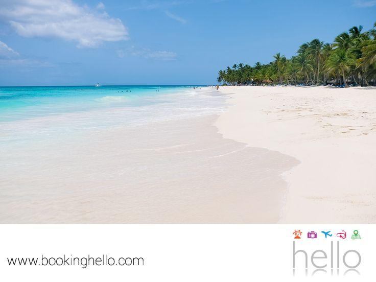 VIAJES DE LUNA DE MIEL. El Caribe tiene hermosas islas paradisíacas que son en el sitio perfecto para tener una luna de miel romántica. Isla Saona ubicada en República Dominicana, te ofrece idílicos paisajes, santuarios de aves migratorias y además, cuenta con impresionantes cuevas para explorar. En Booking Hello, te aseguramos que si eliges tu pack all inclusive a República Dominicana, vivirás un viaje de bodas sorprendente. www.bookinghello.com #BeHello