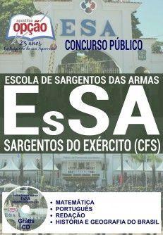 Apostila - SARGENTOS DO EXÉRCITO (CFS) - Escola de Sargentos das Armas (EsSA)