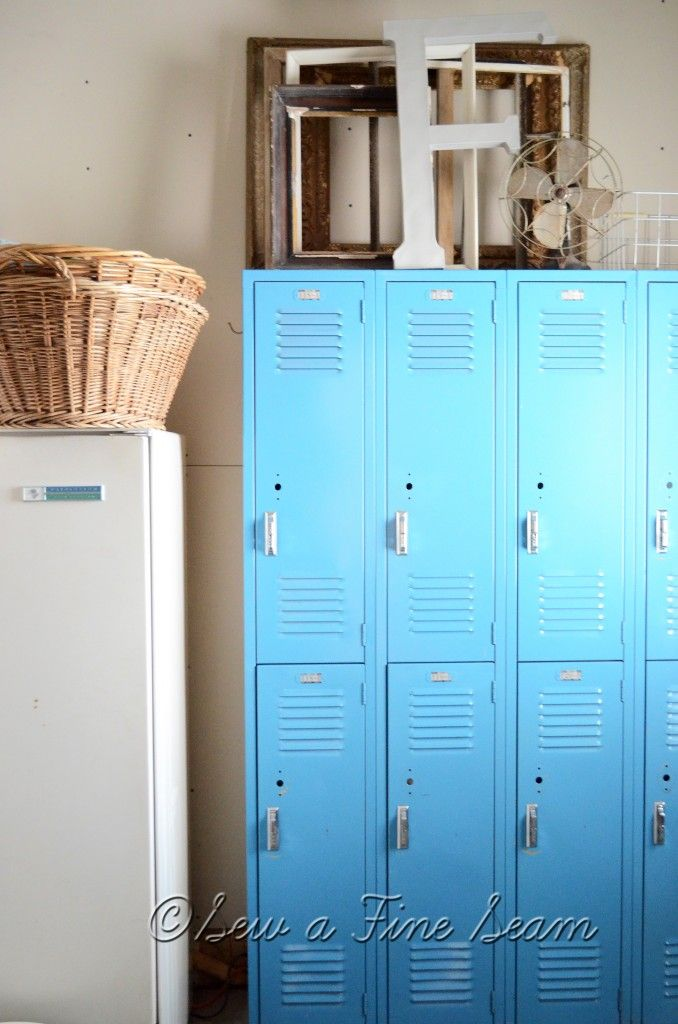 ombre lockers in house!!! how didn't I think of that