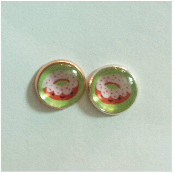 Check out this item in my Etsy shop https://www.etsy.com/listing/212198978/glass-dome-studs-cute-food-sprinkle