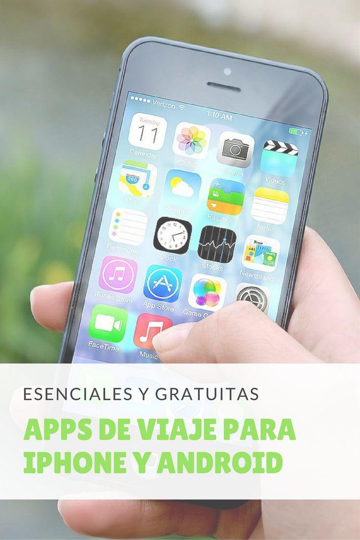 Listado de 11 aplicaciones de viaje para iPhone y Android. #apps #viaje #gratis #gratuita #iphone #android