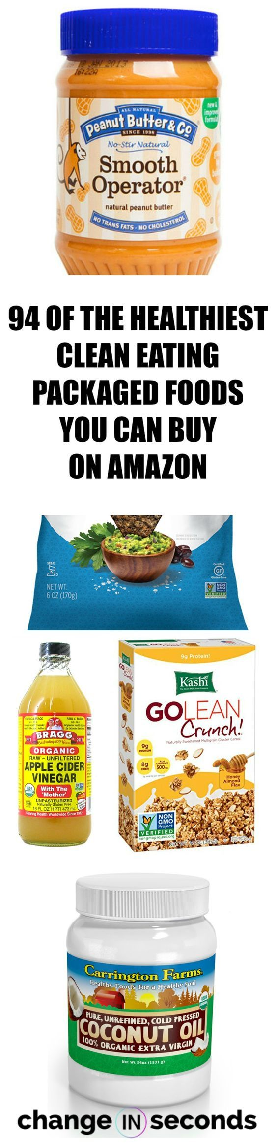 94 Of The Healthiest Clean Eating Packaged Foods You Can Buy On Amazon