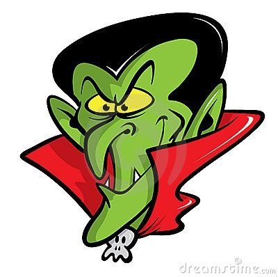 Dracula vampire cartoon illustration by Andy Keylock, via Dreamstime