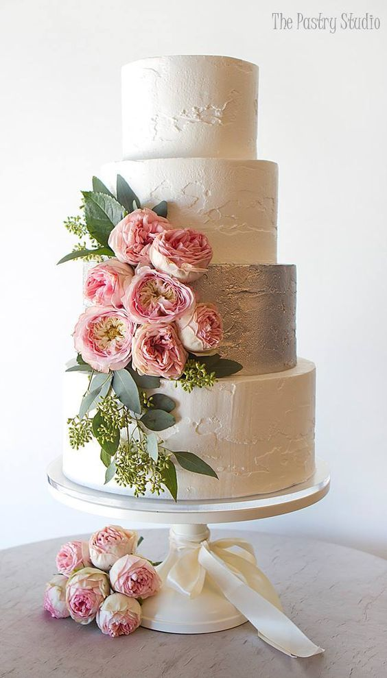 17 Best ideas about Wedding Cake Decorations on Pinterest Gold