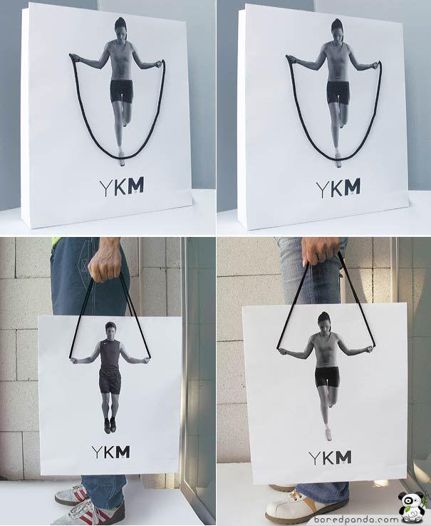 awesome shopping bag...  boredpanda.com