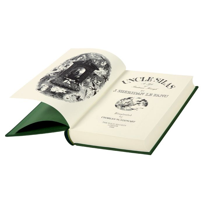 Uncle Silas by J. Sheridan Le Fanu is a captivating gothic thriller, here accompanied by Charles Stewart's intricate illustrations and introduced by Devendra P. Varma, a passionate advocate of the genre.