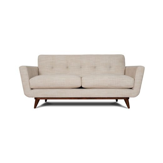 """Nixon loveseat by Thrive: 78"""", $1349, tight back"""