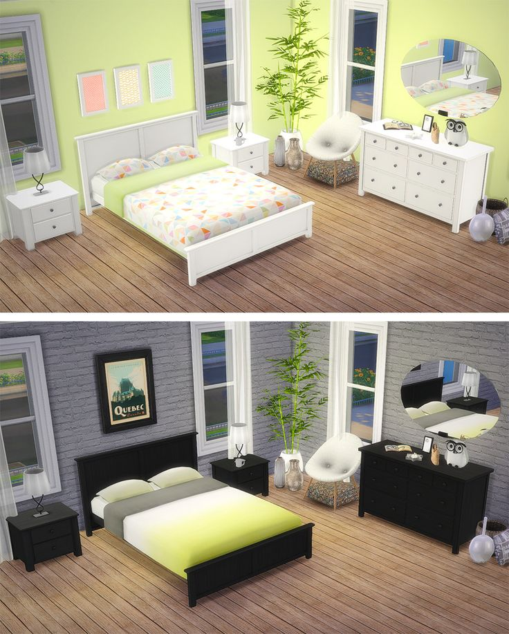 Saudade Sims u2022 Melu0027s Bedroom Meshes by