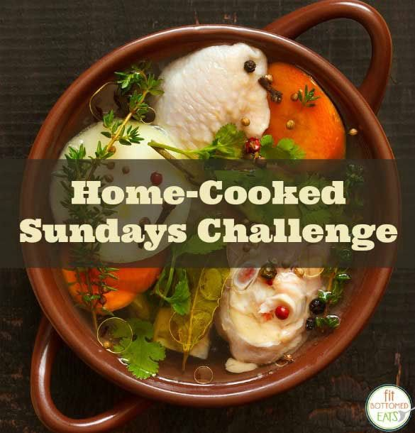 An idea we love: the home-cooked Sundays challenge!