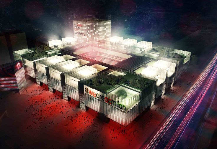 A.C. Milan's new stadium unveiled by Arup