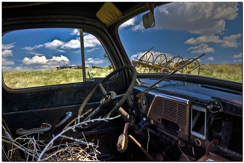 Trucks you can rely on to get the work done. Chevy Runs Deep.     Photo by Father Tony, via Flickr