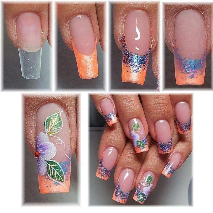 117 Best Step By Step Nails Images On Pinterest