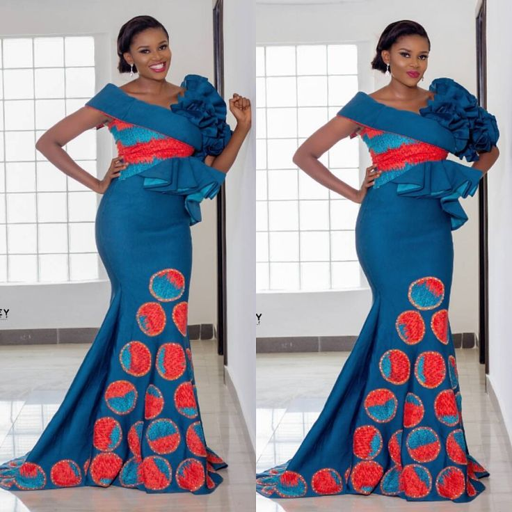 Latest Ankara Outfits For Ladies | Ankara Long Gown Designs | Latest Ankara Trends - Latest Ankara style 2018