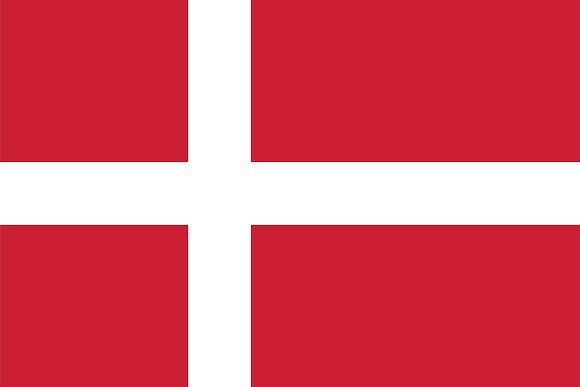 Vector Of Danish Flag Danish Flag Flag Icon Vector