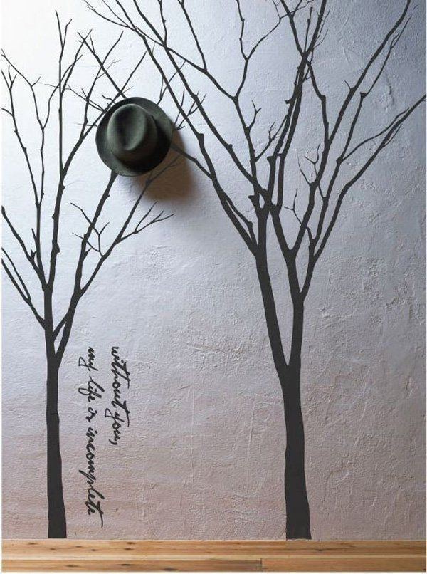 http://www.cadecga.com/category/Wall-Decals/ Tree Wall Decal - 45 Beautiful Wall Decals Ideas <3 <3 More